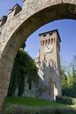 Arco y torre Fotografía de archivo libre de regalías