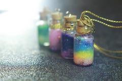 Arcobaleni di vetro minuscoli immagini stock