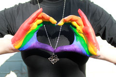 Arcobaleno 5 immagini stock libere da diritti