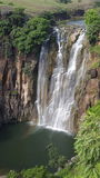 Arcobaleno in cascata Fotografie Stock Libere da Diritti