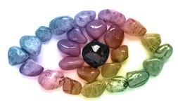 Arcobaleno Crystal Eye Immagine Stock