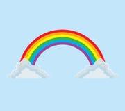 Arcobaleno dell'Interamente arco Immagine Stock