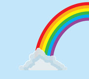 Arcobaleno dell'Mezzo arco Fotografia Stock Libera da Diritti