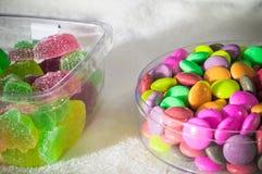 Arcobaleno della caramella della gelatina Immagine Stock Libera da Diritti