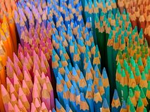 Arcobaleno della matita fotografia stock