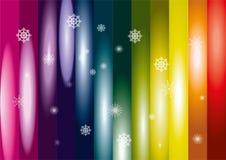Arcobaleno della neve Immagini Stock