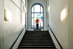 Arcobaleno dentro Fotografia Stock