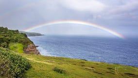 Arcobaleno di Kaupo Maui Immagine Stock Libera da Diritti