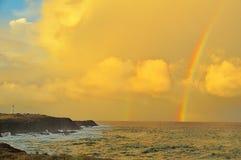 Arcobaleno doppio Fotografie Stock Libere da Diritti