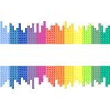 Arcobaleno, fondo Immagini Stock Libere da Diritti