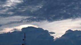 Arcobaleno Gray Cloud leggero Fotografia Stock Libera da Diritti