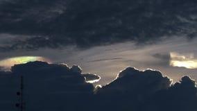 Arcobaleno Gray Cloud leggero Fotografie Stock Libere da Diritti