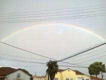 Arcobaleno nel cielo Fotografia Stock Libera da Diritti