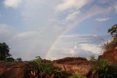 Arcobaleno sul cielo Immagini Stock Libere da Diritti