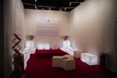 ARCOmadrid当代艺术市场开始它的第33编辑。Madri 图库摄影