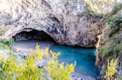 Arcomagno Beach on the Coast of the Cedars, Tyrrhenian Sea, Ital Royalty Free Stock Photos