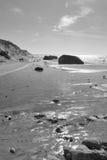 Arcones en la playa, Kandestederne cerca de Skagen, Dinamarca Imágenes de archivo libres de regalías