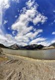 Arcos Alberta del DES de la laca Imagenes de archivo
