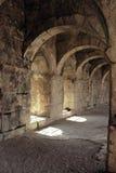 Arcos antigos de Roman Amphitheatre em Turquia fotografia de stock royalty free