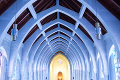 Arcos azules Foto de archivo libre de regalías