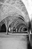 Arcos blancos y negros Fotos de archivo libres de regalías