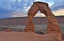 Arcos bonitos parque nacional, Utá Fotos de Stock Royalty Free