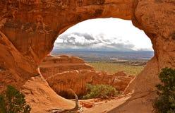 Arcos bonitos parque nacional, Utá Foto de Stock