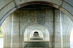 Arcos concretos Imagem de Stock Royalty Free