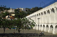 Arcos da Lapa Royalty Free Stock Photography
