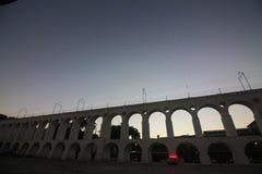 Arcos DA Lapa Carioca υδραγωγείο Στοκ εικόνες με δικαίωμα ελεύθερης χρήσης