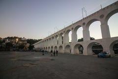 Arcos DA Lapa Carioca υδραγωγείο Στοκ φωτογραφίες με δικαίωμα ελεύθερης χρήσης