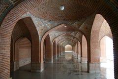 Arcos da mesquita azul Imagem de Stock