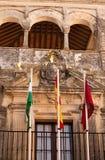 Arcos de λευκιά πόλη Λα Frontera- στην Ισπανία Στοκ εικόνα με δικαίωμα ελεύθερης χρήσης
