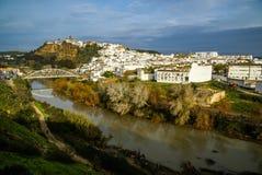 Arcos de Λα Frontera, Ανδαλουσία, Ισπανία Στοκ Φωτογραφίες