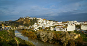 Arcos de Λα Frontera, Ανδαλουσία, Ισπανία Στοκ φωτογραφία με δικαίωμα ελεύθερης χρήσης