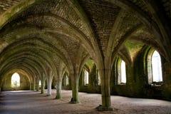 Arcos de la abadía Fotos de archivo libres de regalías