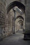 Arcos de la catedral fotografía de archivo