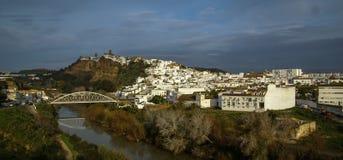 Arcos de la Frontera Andalucia, Spanien Royaltyfri Foto