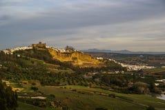 Arcos de la Frontera Andalucia, Spanien Royaltyfri Fotografi
