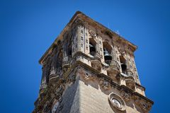 Arcos de la Frontera - Bell Tower Royalty Free Stock Photos