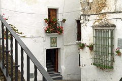 Arcos de la Frontera, mountain village Royalty Free Stock Photo
