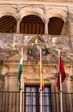 Arcos de la Frontera- white city in Spain Royalty Free Stock Image
