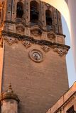 Arcos de la Frontera- white city in Spain Royalty Free Stock Images