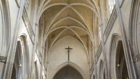 Arcos de la iglesia Foto de archivo