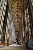 Arcos de la iglesia Imagenes de archivo