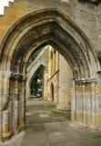Arcos de la iglesia de la abadía Imagenes de archivo