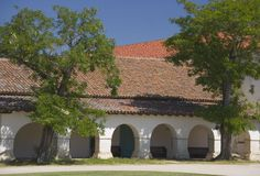 Arcos de la misión Imagen de archivo