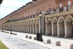 Arcos de la piedra y del ladrillo, Aranjuez, España fotografía de archivo libre de regalías