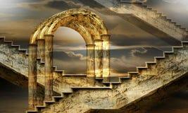 Arcos de la posibilidad Imagenes de archivo
