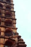 Arcos de la torre del palacio del maratha del thanjavur Foto de archivo libre de regalías